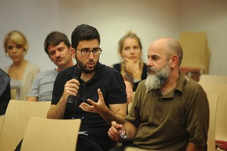 2014-09-30:Participarte Gorthe  .Madrid  Para 20 minutos Foto: David Sirvent
